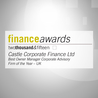 Castle Corporate Finance Ltd Wealth and Finance Awards 2015