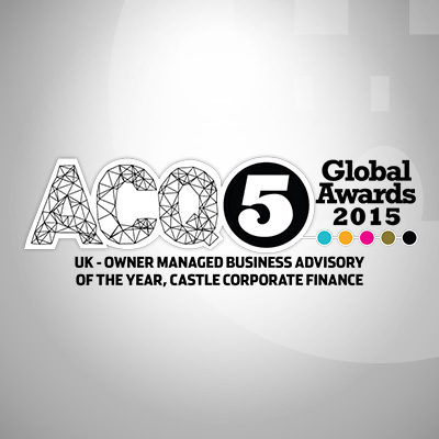 ACQ5 Global Awards 2015 : Castle Win UK Owner-Managed Business Advisory Of The Year Award