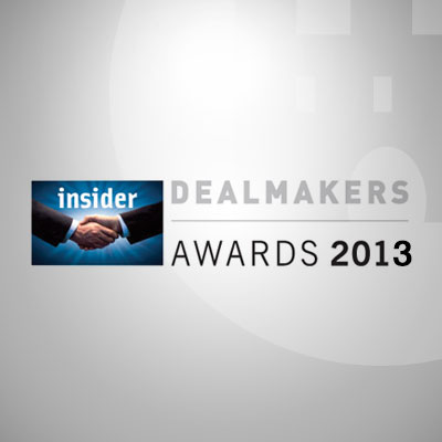 Dealmaker Awards 2013 : Castle Corporate Finance