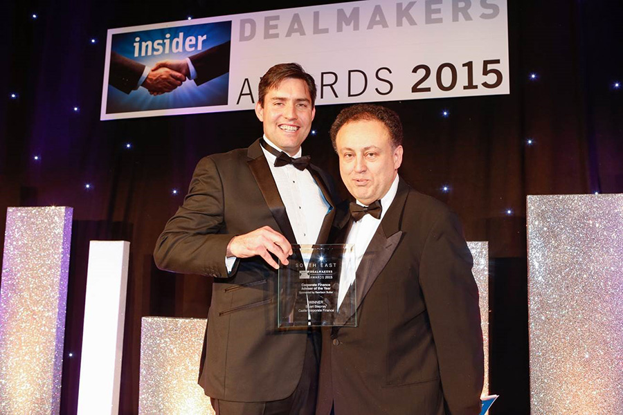 Stuart Stepney - Awarded Corporate Finance Adviser of the Year at the Insider South East Awards 2015