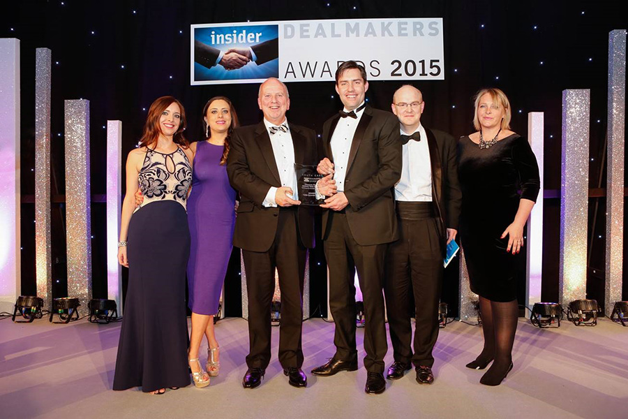 Castle Win Corporate Finance Advisory Team of The Year at the Insider South East Awards 2015.