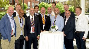 Bowled over by Lord's hospitality!