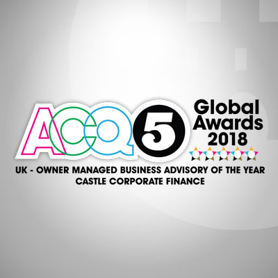 UK Owner Managed Business Advisory of the Year - Castle Corporate Finance
