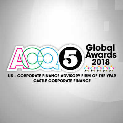 UK Corporate Finance Advisory Firm of the Year - Castle Corporate Finance