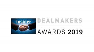 Castle shortlisted for three Insider South East Dealmakers Awards