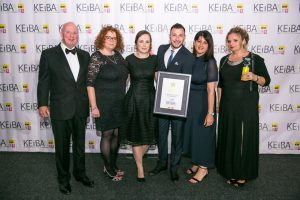 Castle presents 'Large Business of the Year' accolade at KEiBA 2019