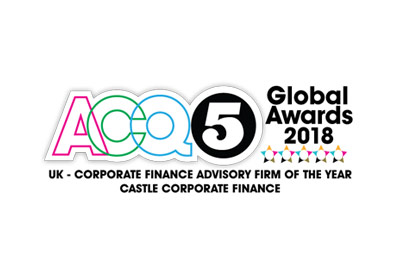 2018 ACQ5 Global Awards Winner - Corporate Finance Advisory Firm of The Year