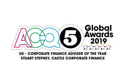 ACQ5 2019 UK Corporate Finance Adviser of the Year: Stuart Stepney, Castle Corporate Finance