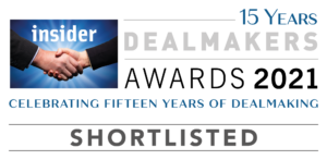 Double nomination for Castle at the 2021 South East Dealmakers Awards!
